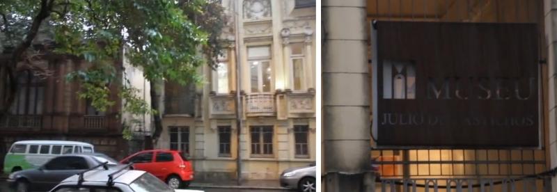 """O museu está dividido em duas casas. A primeira, vermelha, foi onde viveu Júlio de Castilhos. A amarela, ao lado, foi a que se tornou um anexo do museu após ser adquirida pelo governo estadual em 1980. """"É possível perceber uma diferença arquitetônica entre as duas, já que uma casa foi construída em 1887 e a outra na segunda década do Século XX"""", destaca.  Uma boa dica, diz Gabriel, é atravessar a rua e observar a fachada das duas casas. """"De fora podemos perceber de forma bem marcada essa diferença arquitetônica entre as duas casas"""", aponta."""