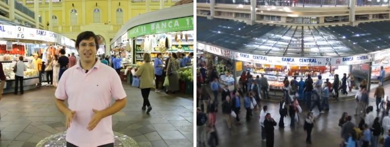 """O Mercado Público que a gente conhece hoje em dia, recorda Aurvalle, quase deixou de existir após uma série de eventos trágicos, como a enchente de 1941 e os incêndios que se sucederam na década de 1970. Por volta de 1990 foi iniciada a obra de restauração, concluída sete anos mais tarde. O projeto foi premiado pelo Instituto de Arquitetos do Brasil e Fundação Bienal de São Paulo na categoria Patrimônio Histórico da 3ª Bienal de Arquitetura. """"Em toda a cidade que você for, procure visitar o mercado local. É lá onde vamos encontrar o que a cidade é realmente"""", indica."""
