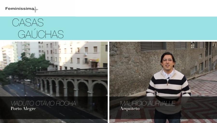 """Ao anunciar mais uma parada no giro que deu pelo Centro Histórico de Porto Alegre para a primeira temporada do programa Casas Gaúchas, o arquiteto Maurício Aurvalle não escondeu o entusiasmo: """"Hoje tenho o prazer de falar de um dos locais que mais admiro na Capital: o Viaduto Otávio Rocha, também conhecido como Viaduto da Borges."""", derramou-se, elencando as razões para tamanha admiração. """"Tenho grande paixão pela qualidade arquitetônica deste viaduto. Tem imponência, qualidade estética e eixos marcados que causam um impacto muito forte na memória de qualquer um que tenha contato com essa região""""."""
