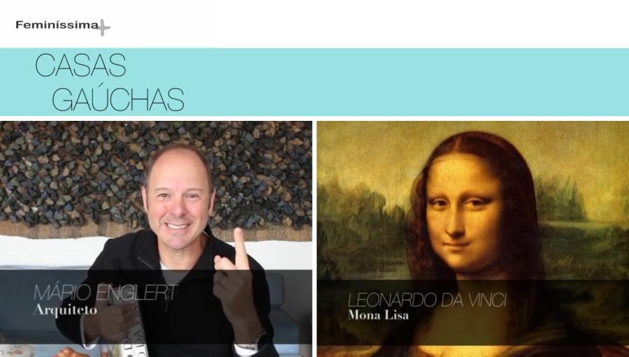 """Como já mencionado em um post anterior, o mestre Leonardo Da Vinci foi personagem de destaque na primeira temporada do programa Casas Gaúchas. Depois de explorar o período em que o gênio italiano trabalhou como mestre de cerimônias para o Duque de Milão, Lodovico Sforza, o arquiteto Mário Englert contou sobre a ida de Da Vinci da Itália para a França, e como o seu célebre quadro Mona Lisa acabou parando no Museu do Louvre. Uma história que começa em solo italiano e cruza a fronteira com o casamento de uma das filhas da nobre família Medici com o rei francês Francisco I. """"Foi a última família para quem Leonardo trabalhou antes de morrer"""", recorda."""